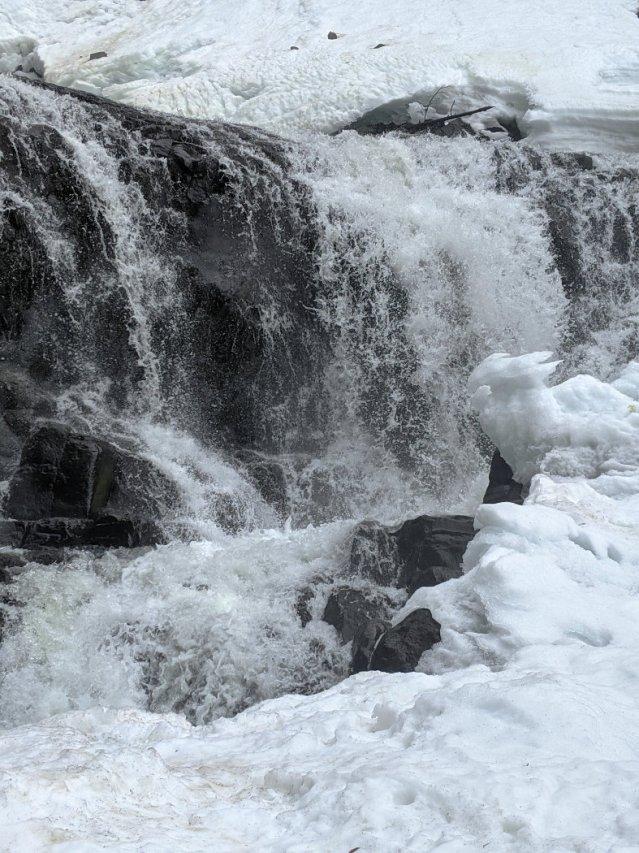 Alexander Falls close up