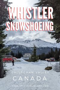 Whistler Snowshoeing - Callaghan Valley