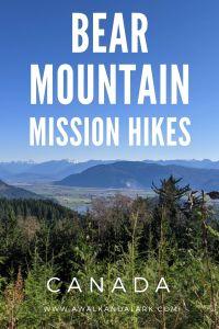 Bear Mountain - Fun, family friendly hike near Mission