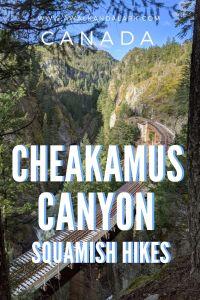 Cheakamus Canyon - Fabulous hike near Squamish, Canada