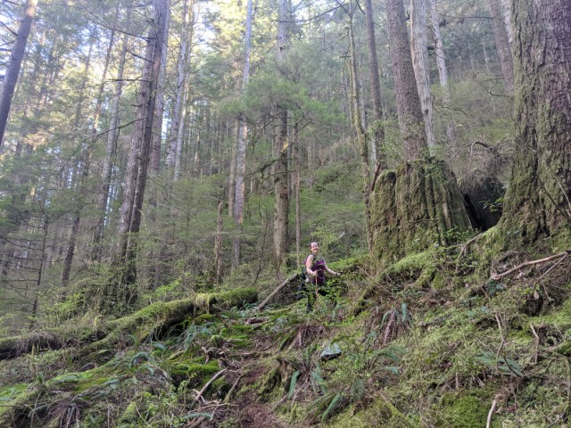 The tough part - the actual Underhill