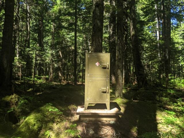 Covil camp bear cache