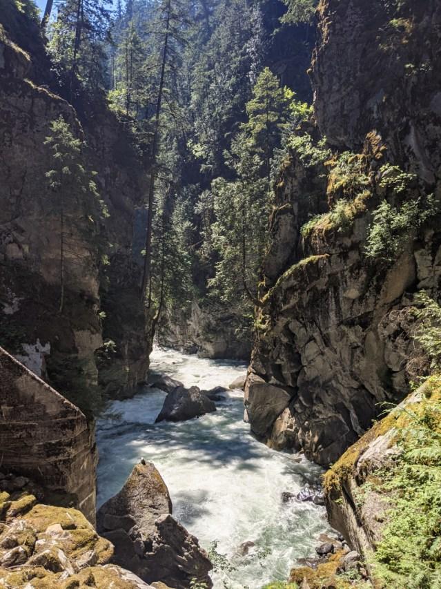 Coquihalla Canyon deep view