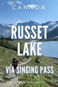 Hike to Russet Lake via Singing Pass