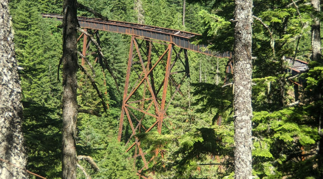 Ladner Trestle from the trail