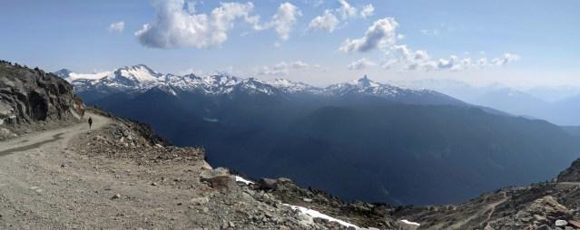 Views from Whistler Peak, including Black Tusk