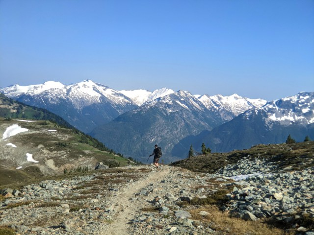 Views between Flute and Oboe Summits on the Musical Bumps trail