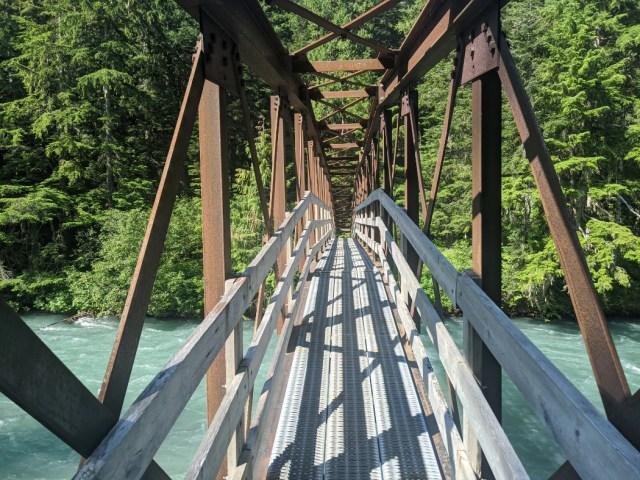 Cross the Cheakamus River