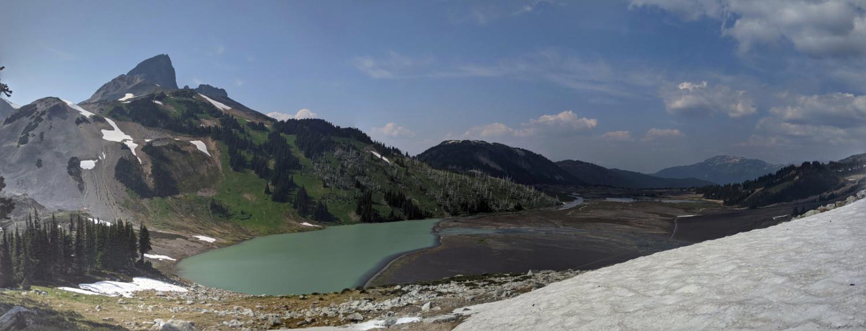 Helm Lake and Black Tusk