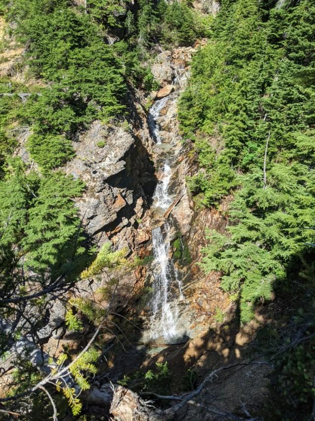 Waterfalls along the trail