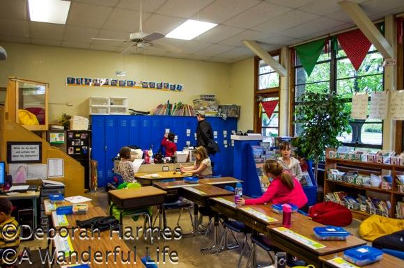 1st Grade classroom at Walden School.