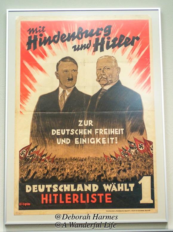 Hindenburg and Hitler Poster