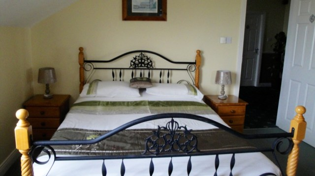 Our cozy room at the Dunlavin House.