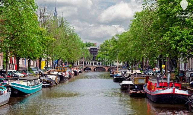 A Canal in Amsterdam Photo by Sean Cutrufello
