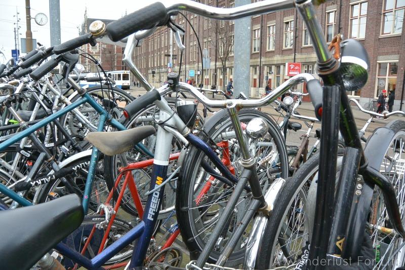 Bike Rack in Amsterdam