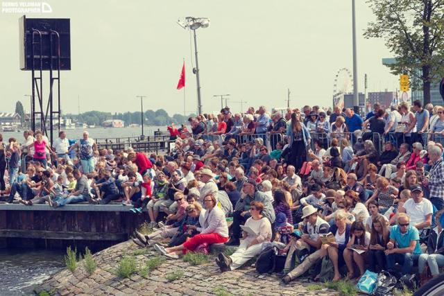 Crowd at SAIL Amsterdam