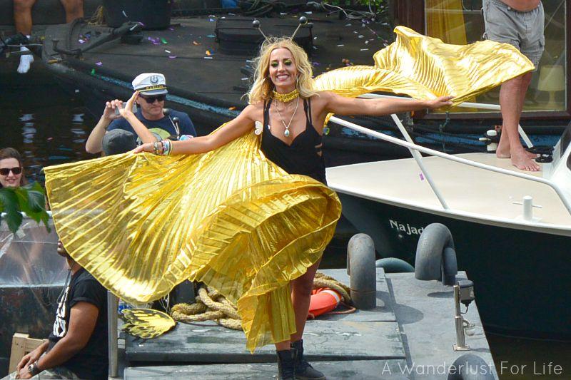 Gold dancer