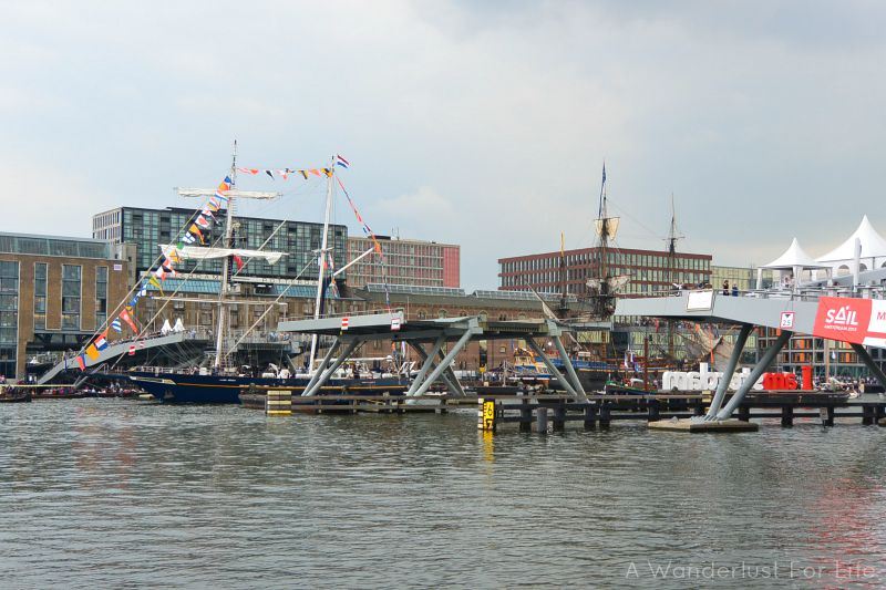 SAIL Amsterdam Bridge