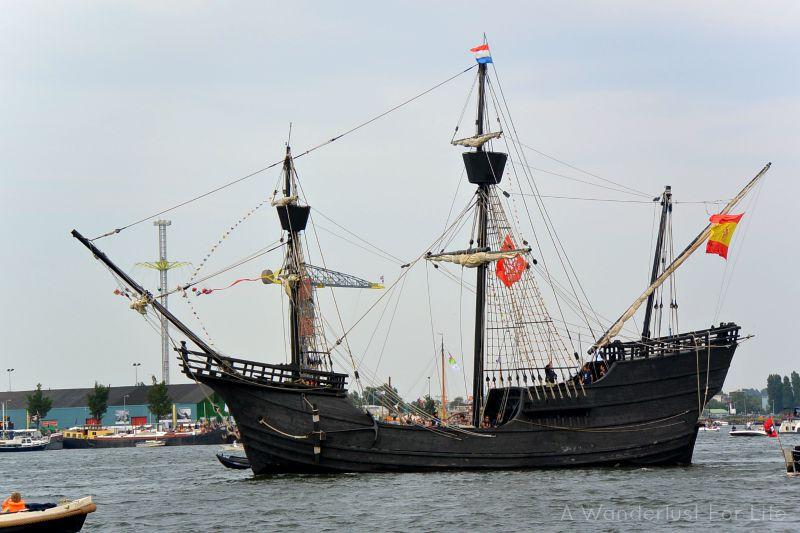 sail sunday black ship