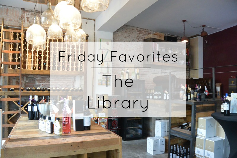 Friday Favorites: The Library