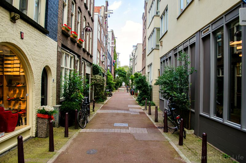 Alley in Amsterdam