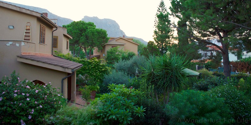 Houses in the hills in Giardini-Naxos