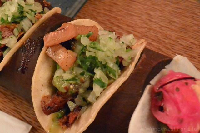 London Food Tour Tacos