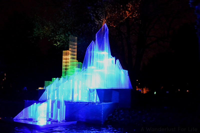 Amsterdam Light Festival Two Cities