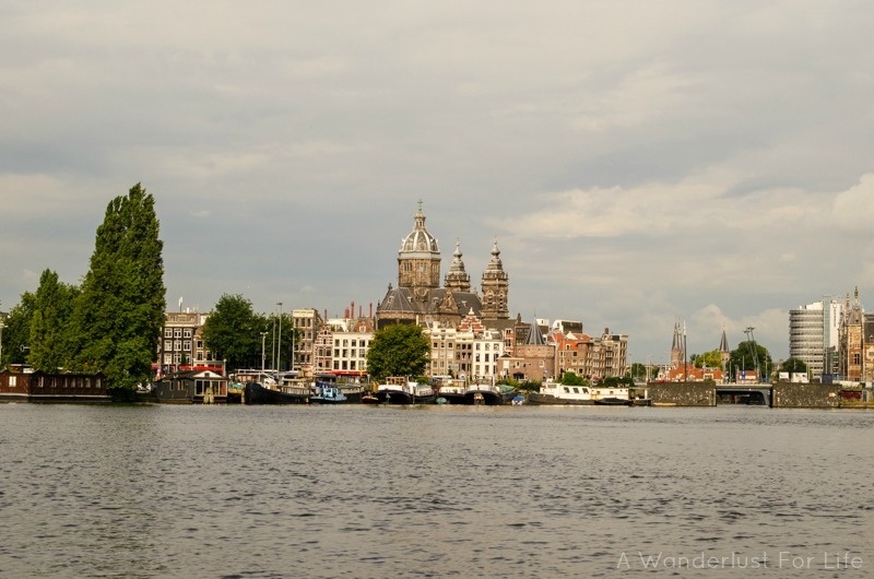 one day in Amsterdam - on the canals
