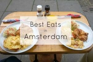 Best eats in Amsterdam