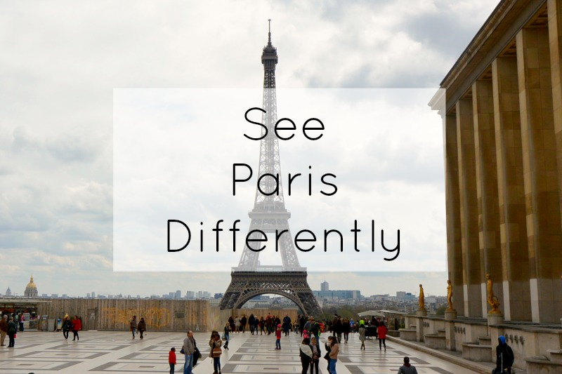 See Paris Differently title