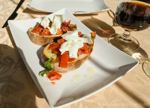 Italian Food on the Amalfi Coast