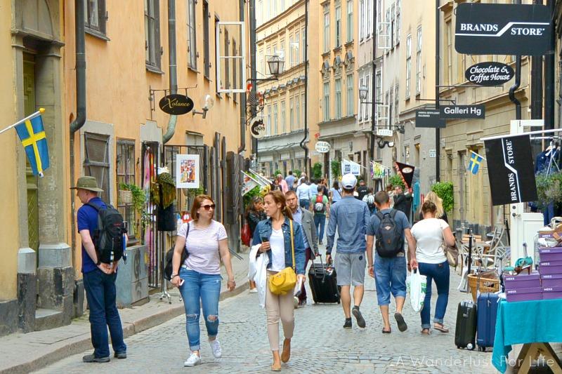 Love Stockholm's street scene