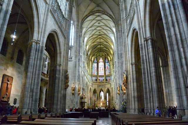 Cathedral in Prague Castle