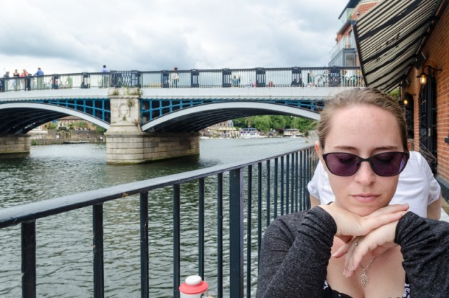 Lunch on the Thames River