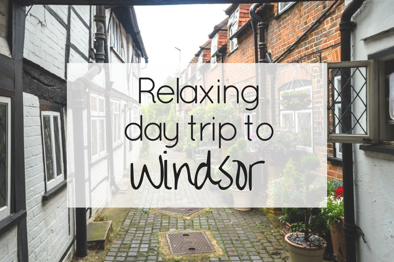 Relaxing day trip to Windsor