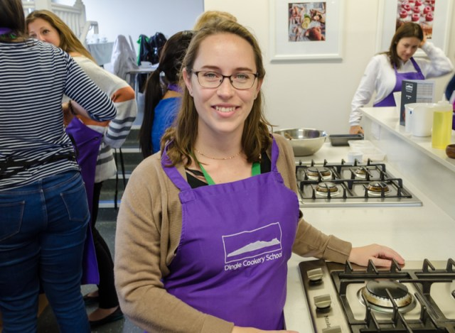 Jess at the Dingle Cookery School
