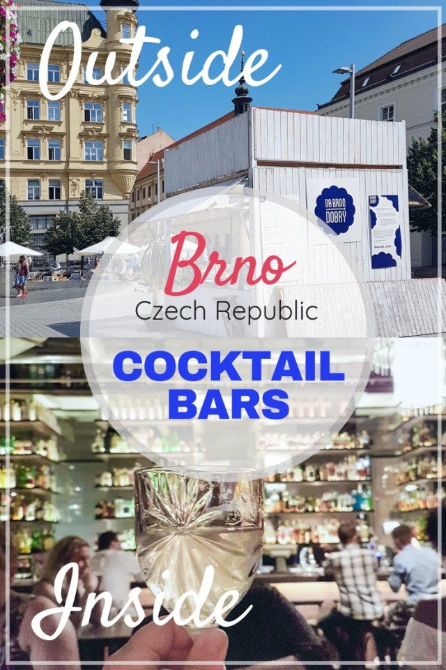 Cocktail bars in Brno Czechia | This pin will show you amazing cocktail bars in Brno