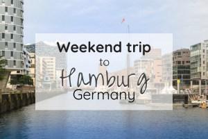 Hamburg weekend