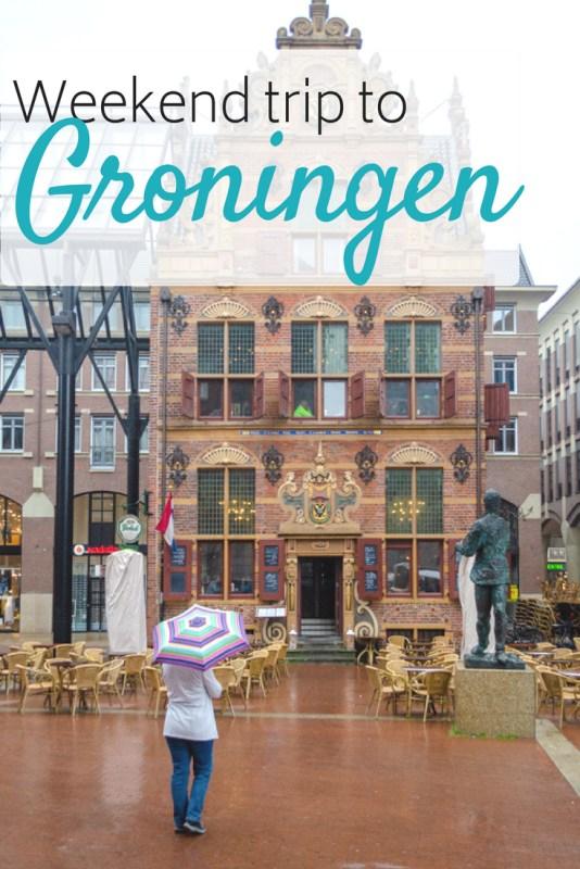 Weekend trip to Groningen pin