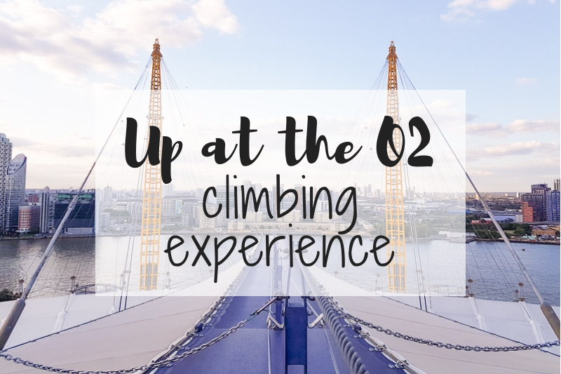 Up at the O2 climbing experience
