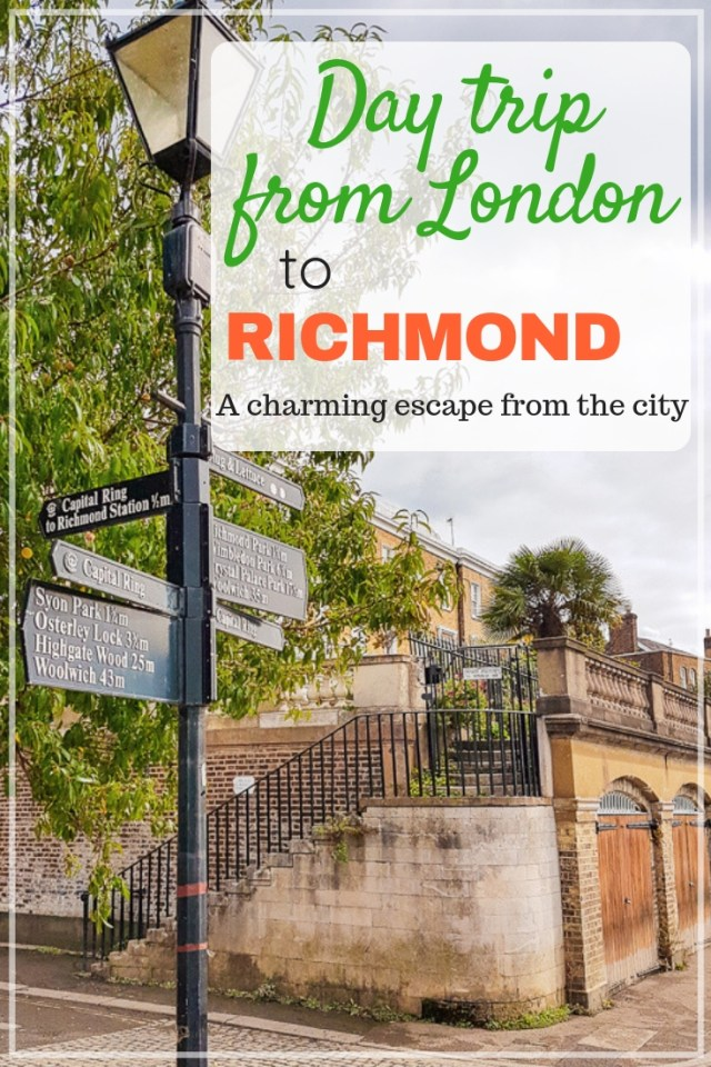 A day trip from London to Richmond
