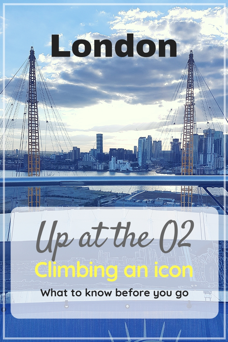 Up at the O2 climb | Climbing an icon of London