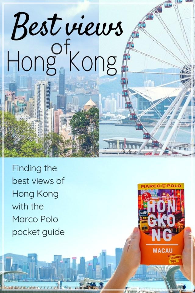 Best views of Hong Kong pin