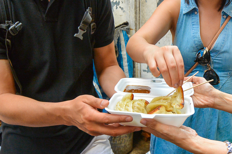 Try local cuisine on a Hong Kong food tour
