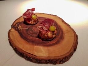 Jamon Tapas Bite - Cinq Sentitis, Barcelona, Spain