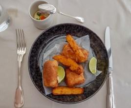Fish and Chips -- Le Ciel, Vienna, Austria