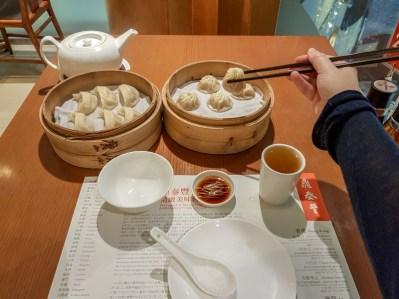 Xiao Long Bao (soup dumpling) -- Din Tai Fung, Honk Kong