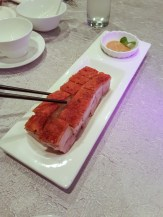 Crispy Pork Belly -- Di King Heen, Hong Kong