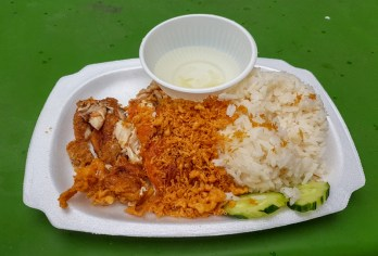 Haiananese Chicken Rice -- Tian Tian Hawker stall, Maxwell Food Center, Singapore